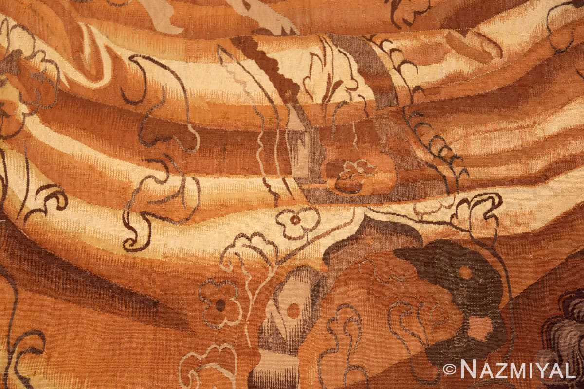 Close-up 18th French tapestry 50717 by Nazmiyal