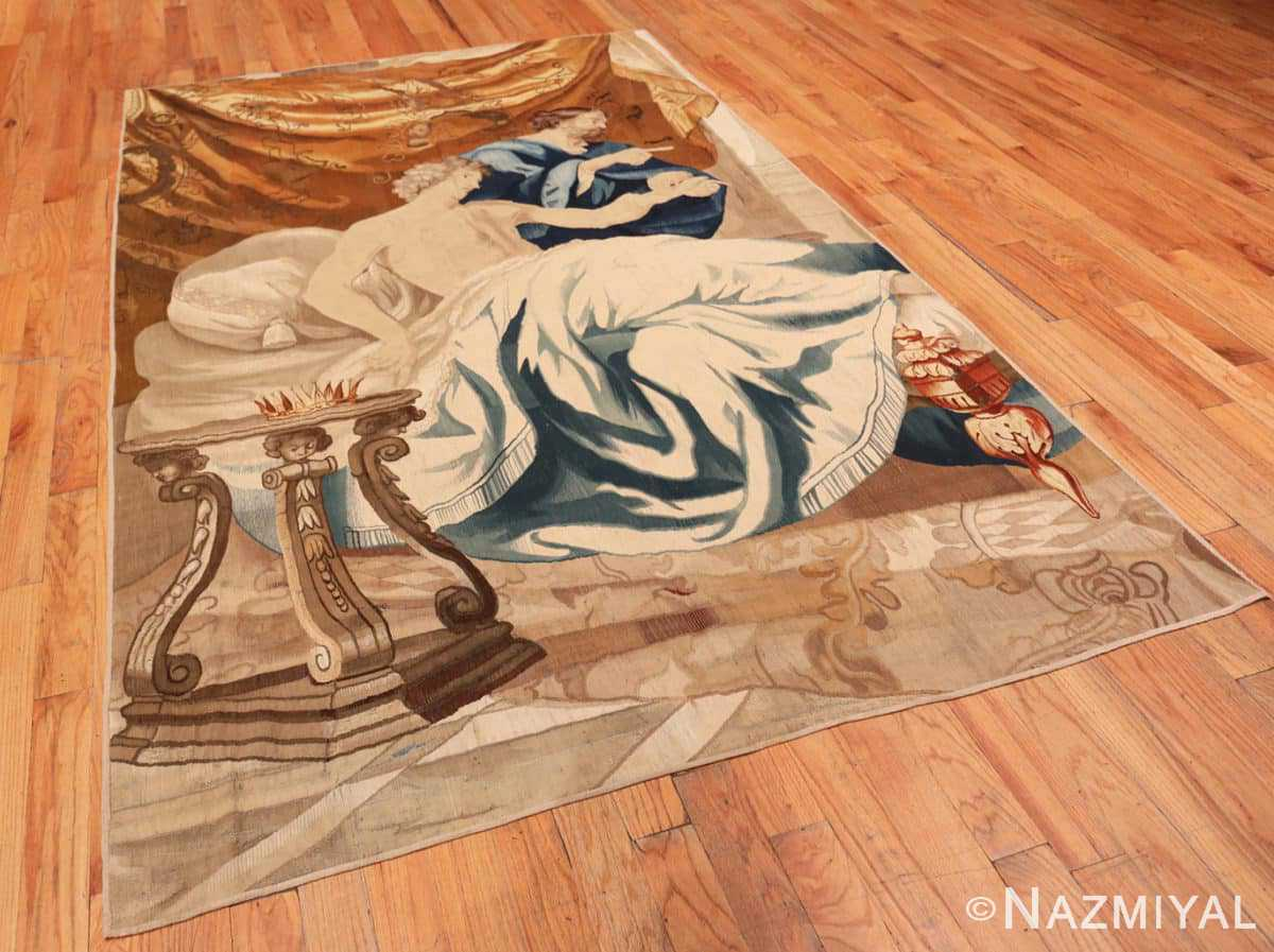 Full 18th French tapestry 50717 by Nazmiyal