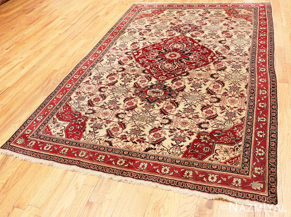 Full Antique Indian Agra rug 50709 by Nazmiyal