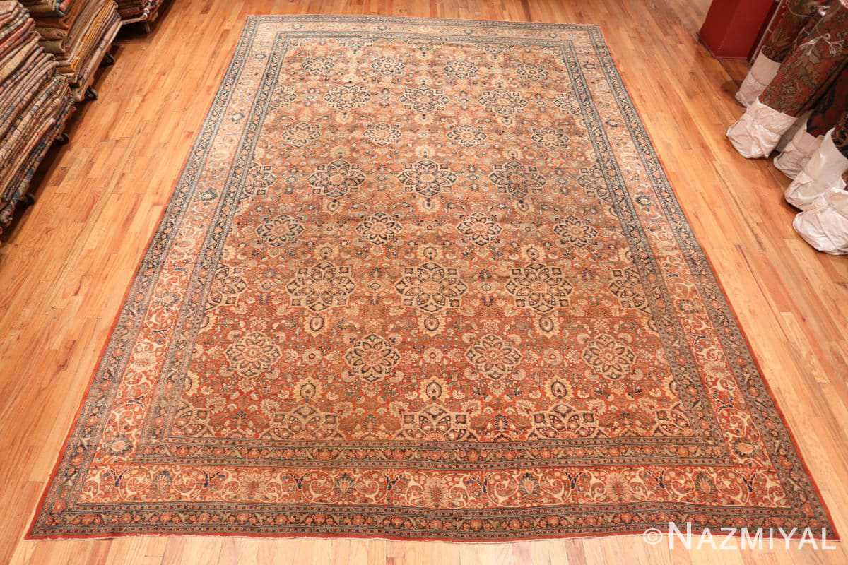 Full antique Persian Tabriz rug 50657 by Nazmiyal