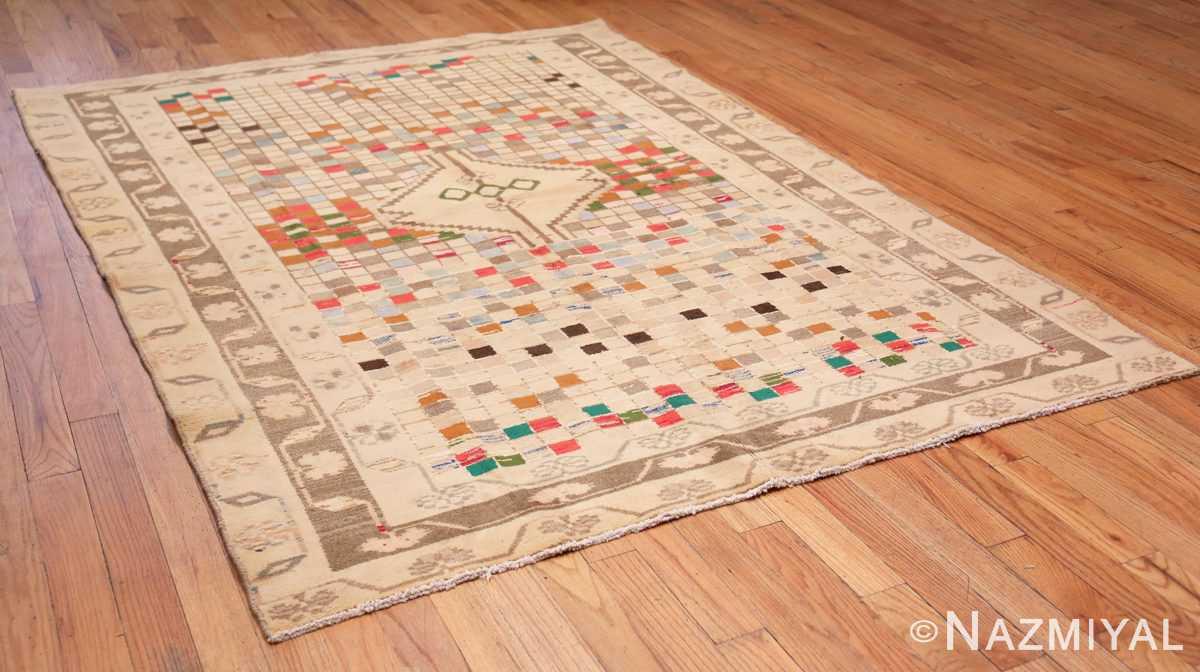 Full Whimsical Tribal Persian Gabbeh rug 48814 by Nazmiyal