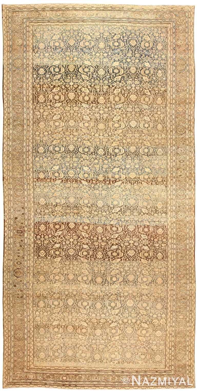 Large Oversized Antique Persian Malayer Rug 48889 Nazmiyal
