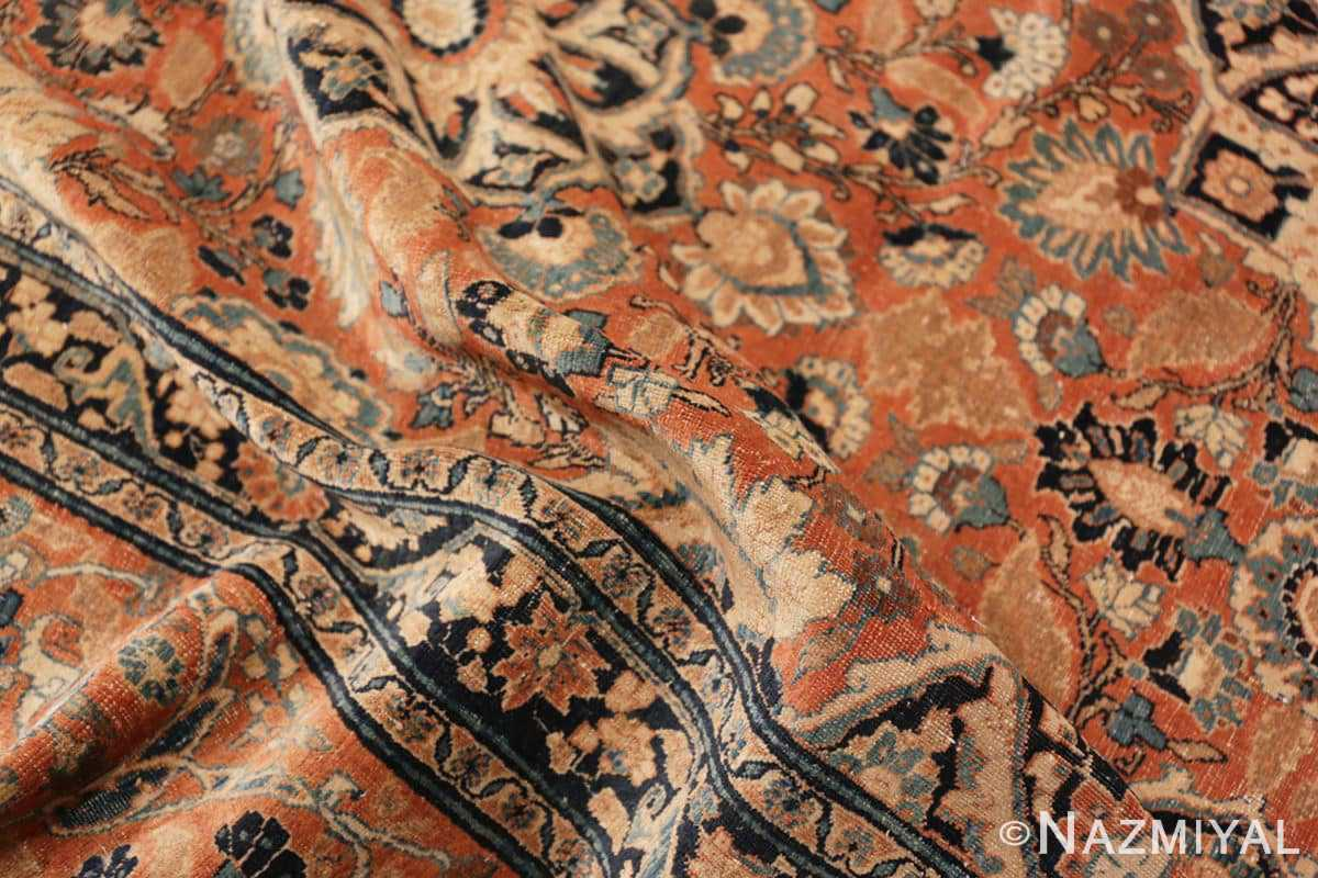 Pile antique Persian Tabriz rug 50657 by Nazmiyal