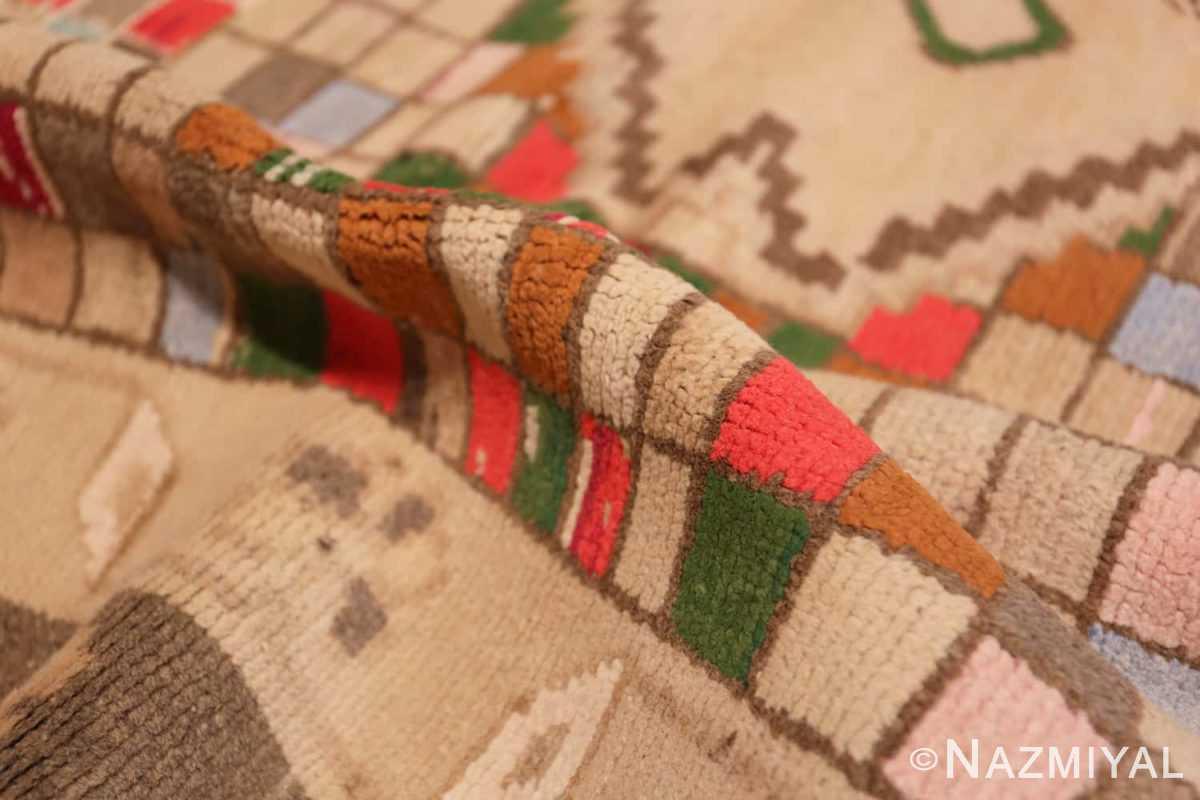 Pile Whimsical Tribal Persian Gabbeh rug 48814 by Nazmiyal