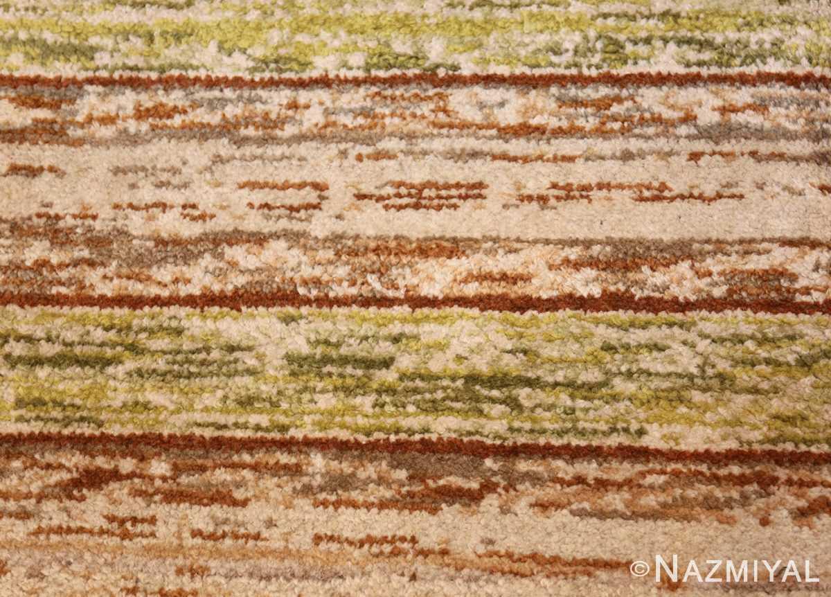 vintage double sided swedish rug 49018 closeup Nazmiyal
