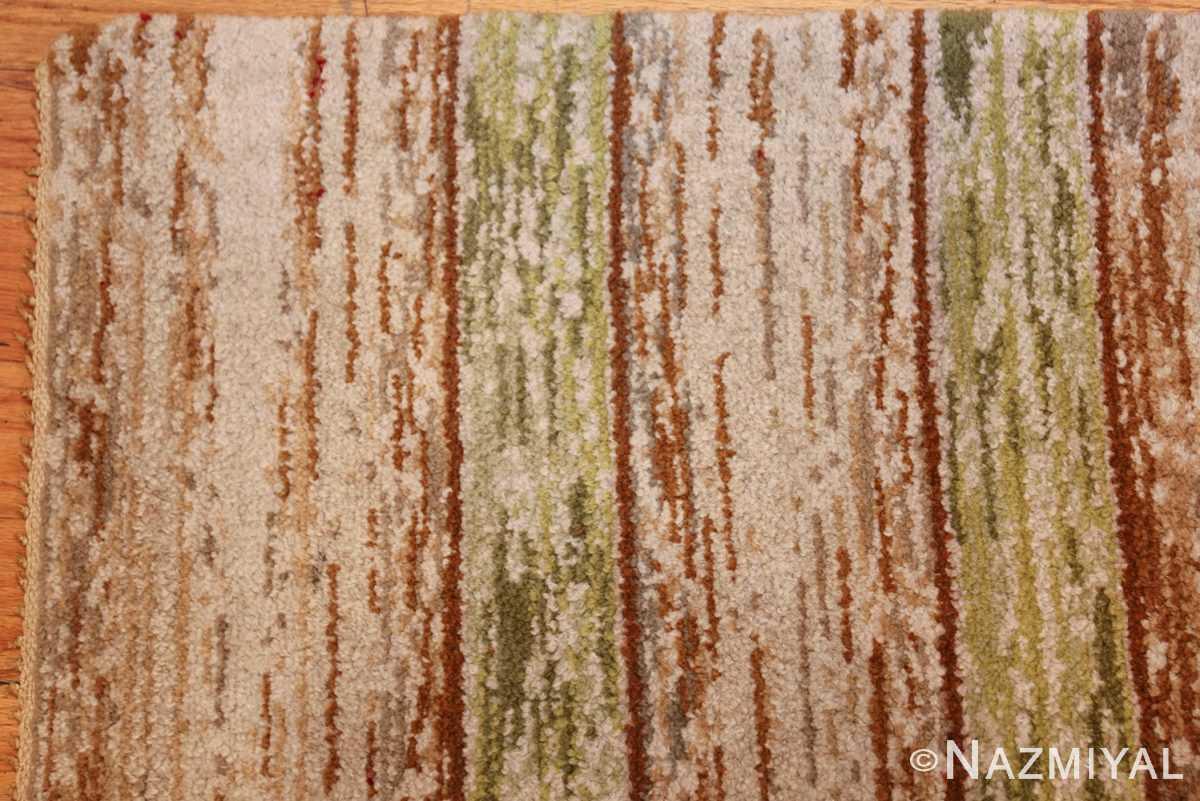 vintage double sided swedish rug 49018 corner Nazmiyal