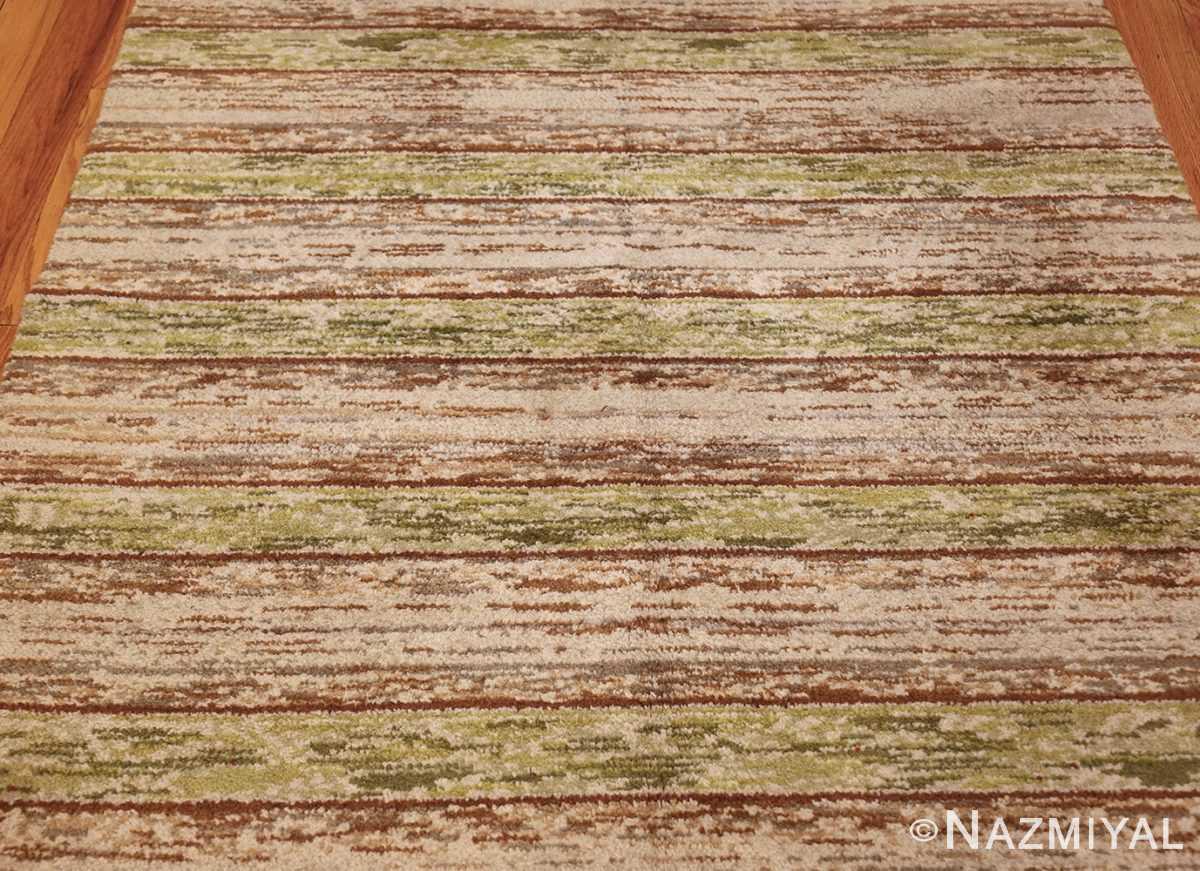 vintage double sided swedish rug 49018 field Nazmiyal