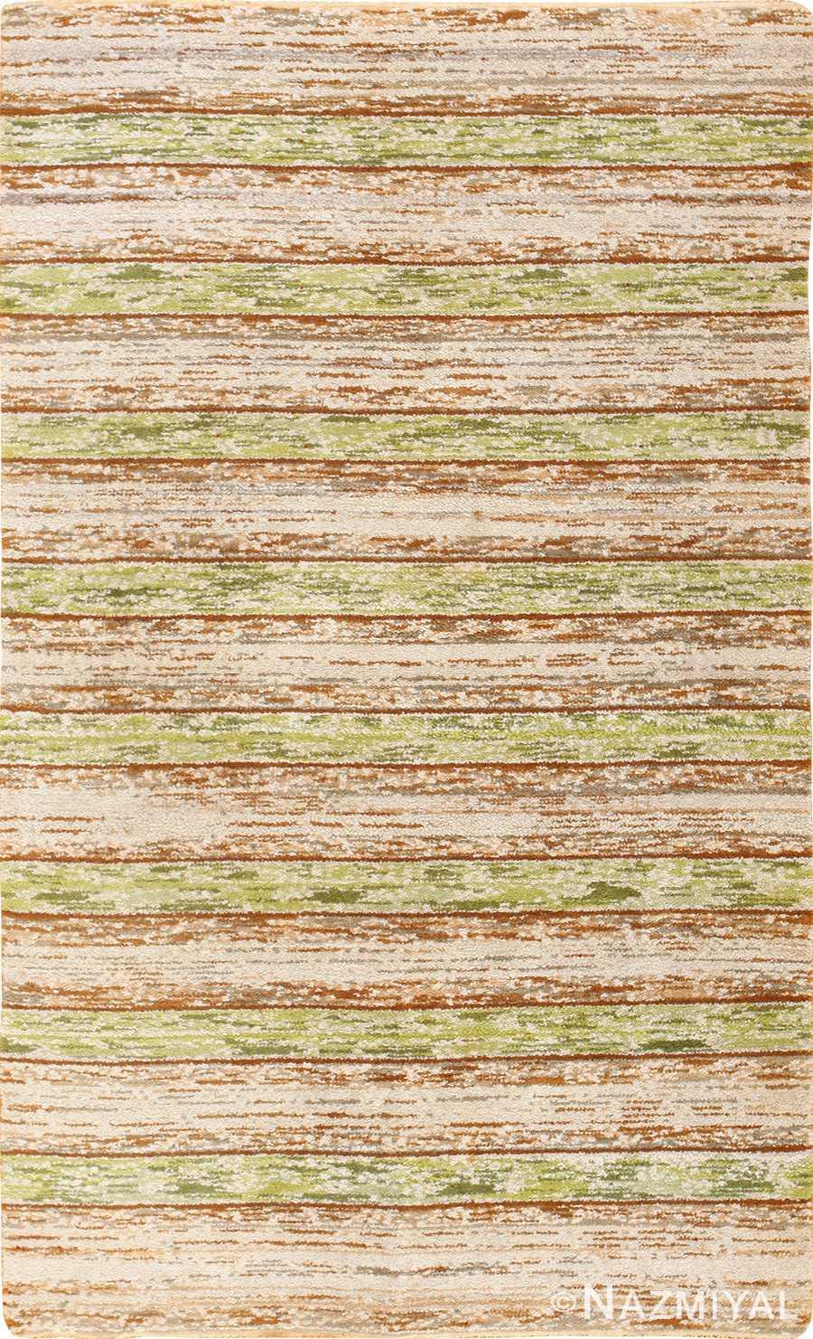 vintage double sided swedish rug 49018 Nazmiyal
