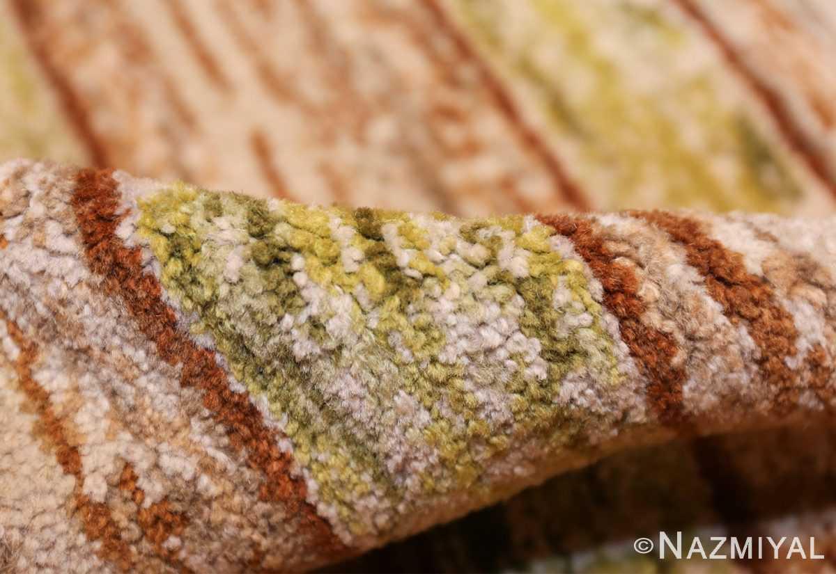vintage double sided swedish rug 49018 pile Nazmiyal