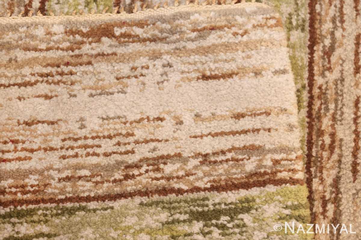 vintage double sided swedish rug 49018 weave Nazmiyal