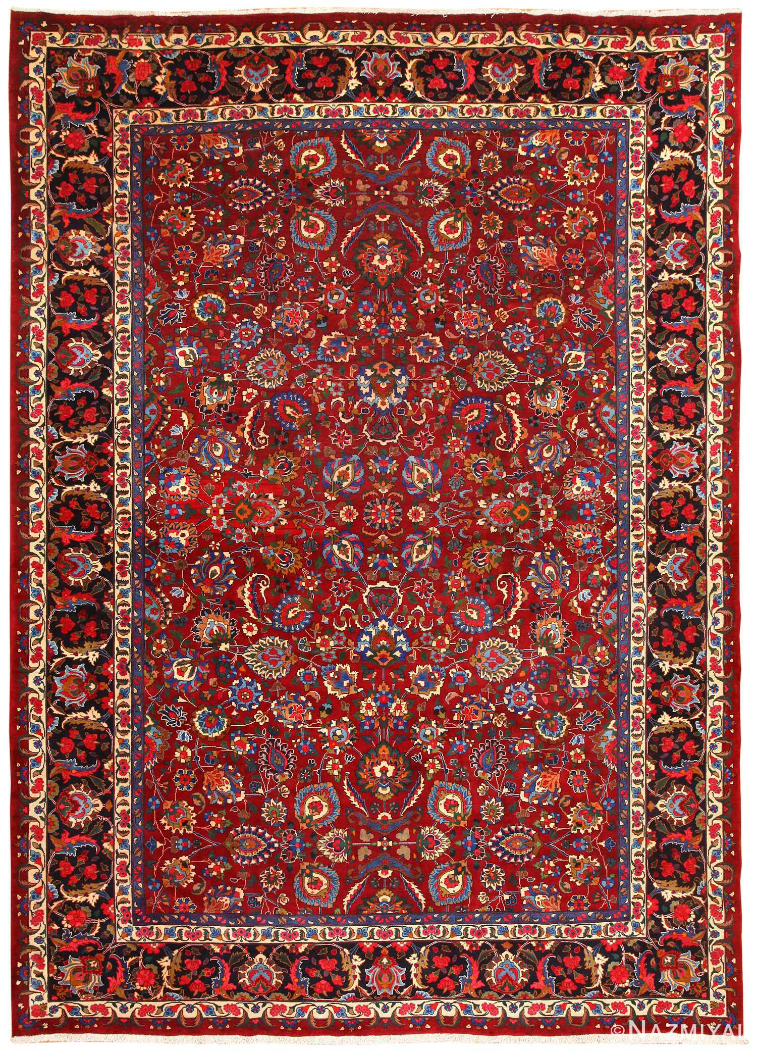 Vintage Persian Khorassan Carpet 48853