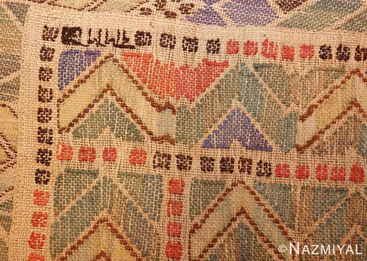 vintage swedish kilim rug by marta maas 49029 weave Nazmiyal