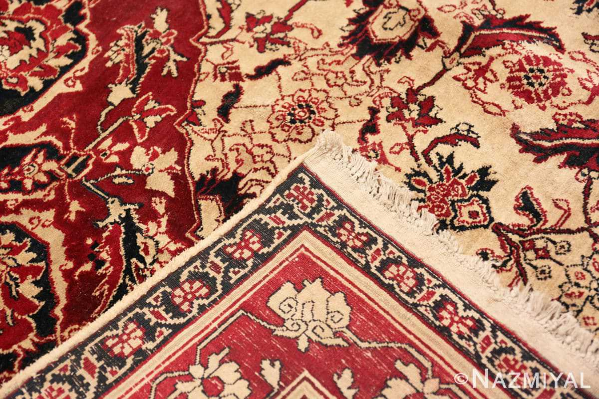 Weave Antique Indian Agra rug 50709 by Nazmiyal