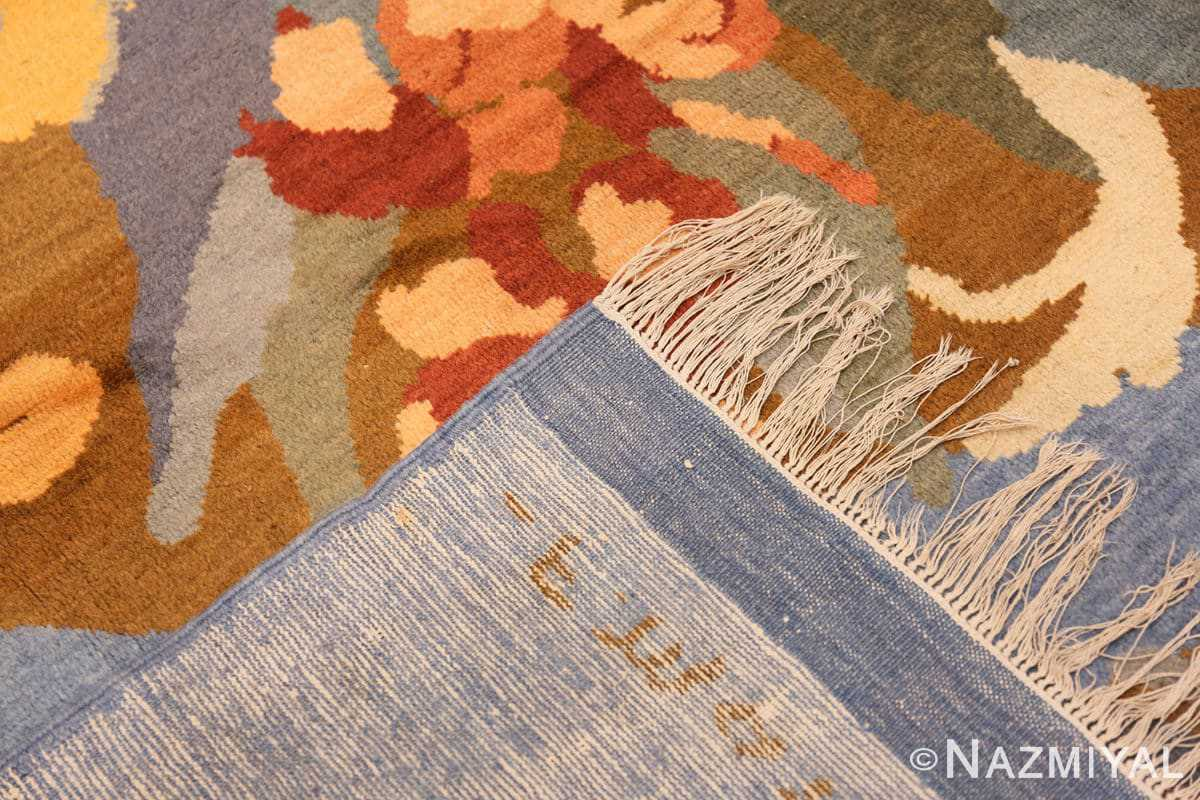 Weave Vintage French Art Deco rug 49008 by Frédéric Marius de Buzon by Nazmiyal collection.
