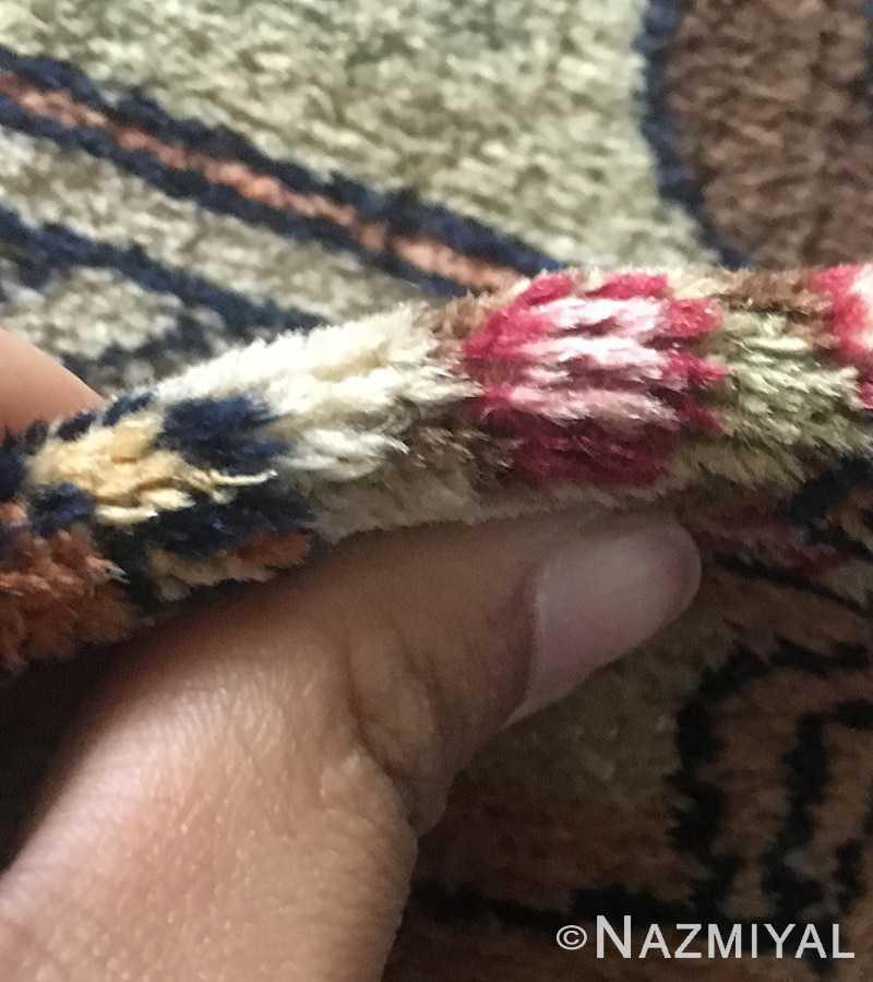 Antique Persian Kashan Rug 49063 Detailed 3