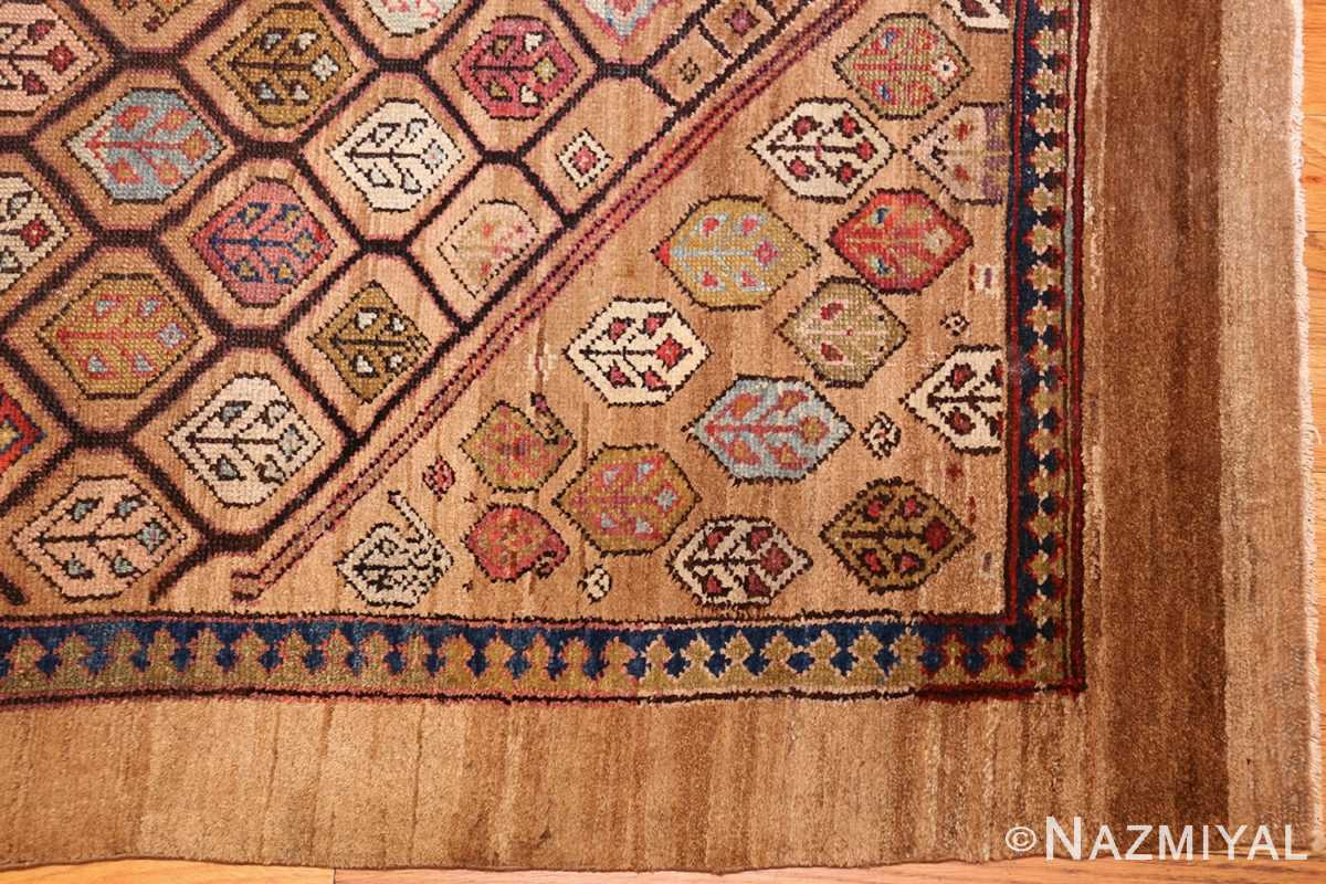 antique persian serab rug 50699 corner Nazmiyal