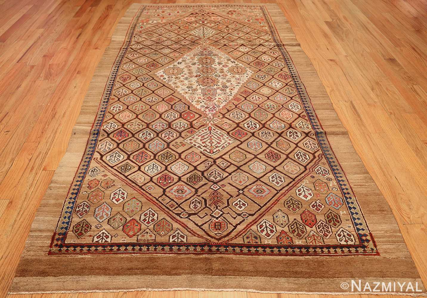 antique persian serab rug 50699 full Nazmiyal