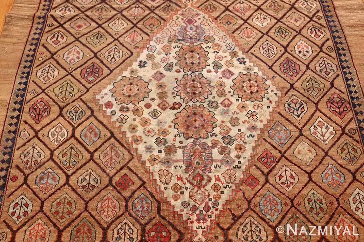 antique persian serab rug 50699 medallion Nazmiyal
