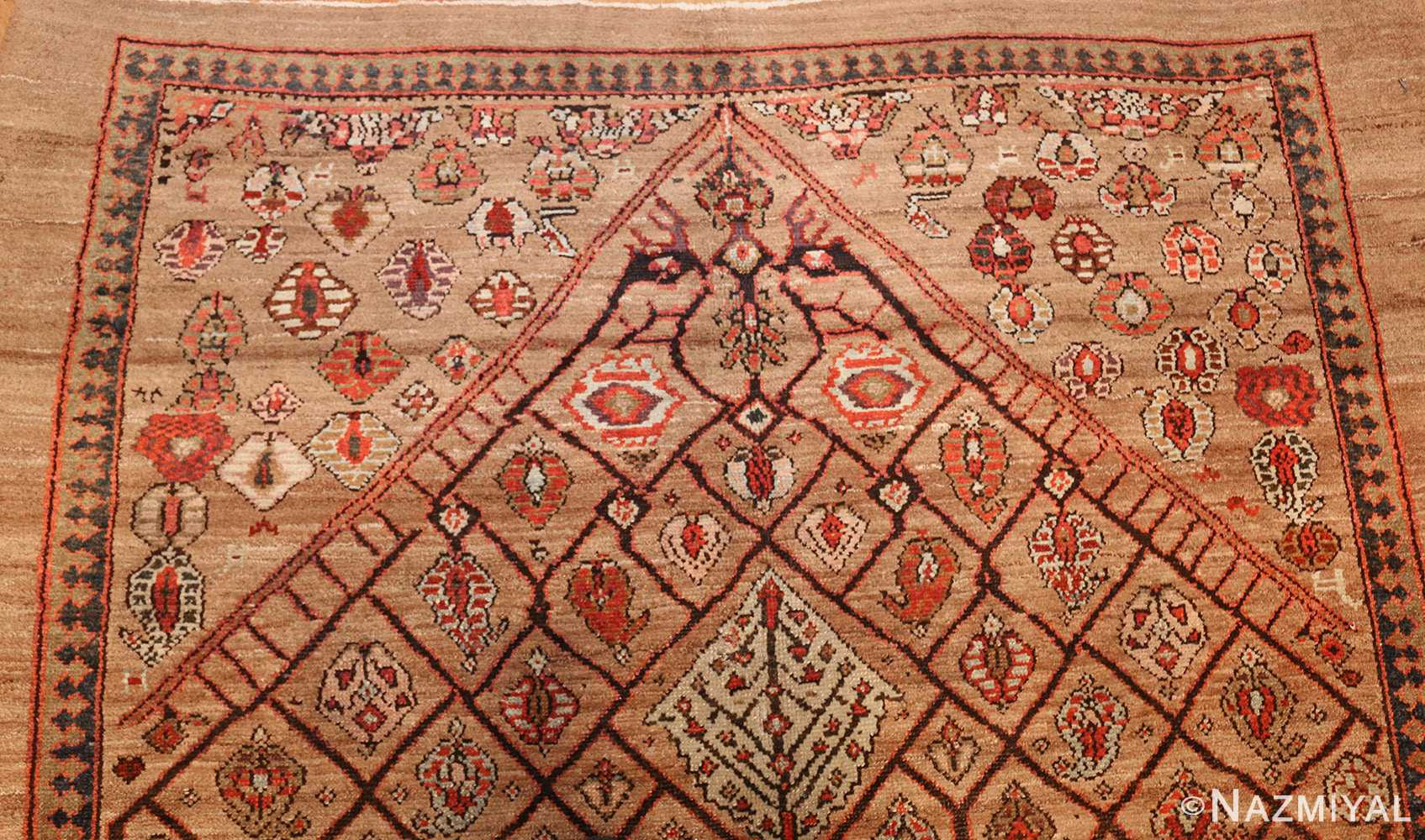 antique persian serab rug 50699 top Nazmiyal