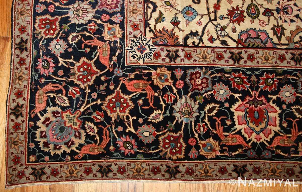 antique persian tabriz rug 49064 border Nazmiyal