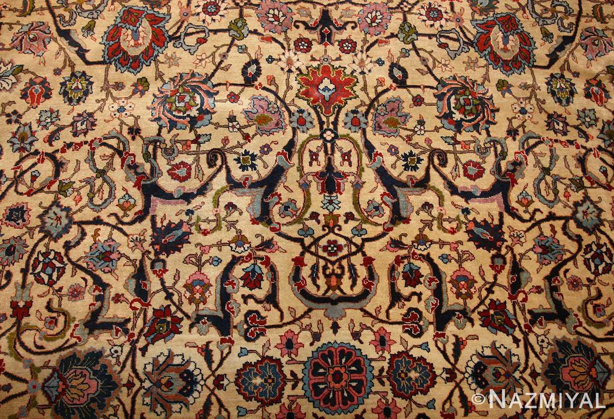 antique persian tabriz rug 49064 field Nazmiyal