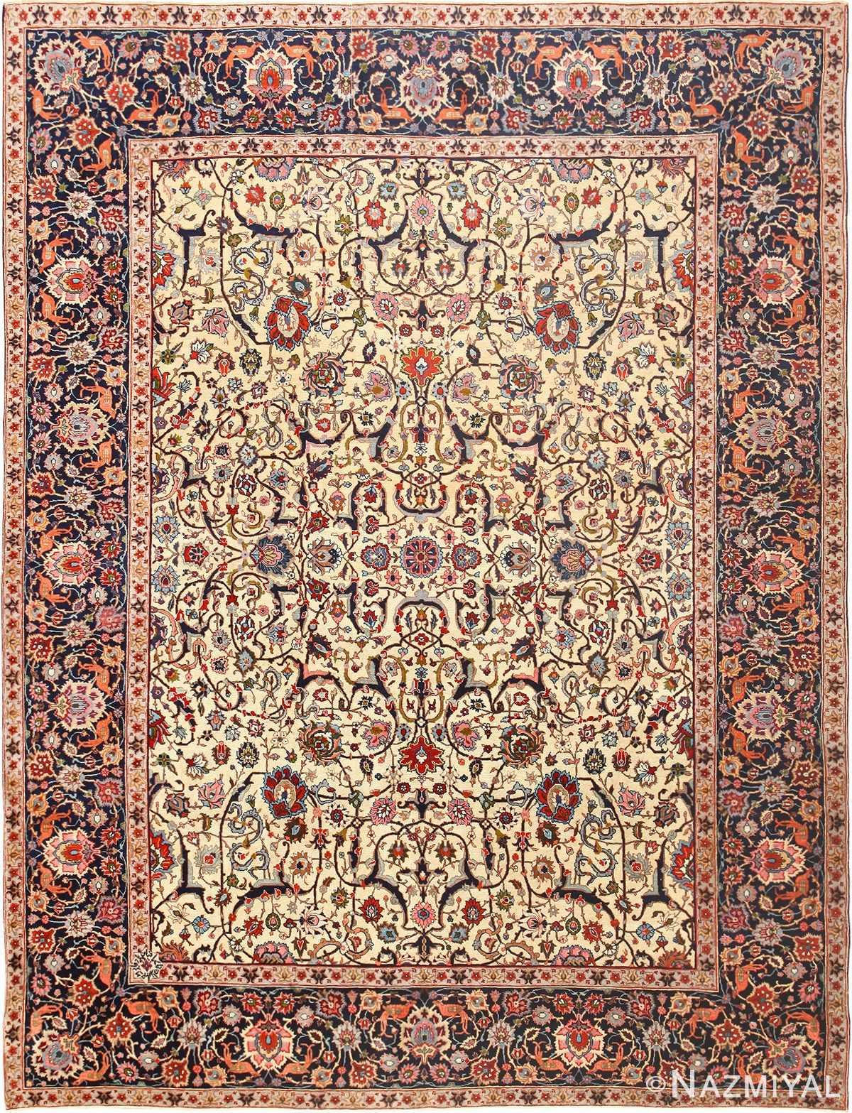 Antique Persian Tabriz Rug 49064