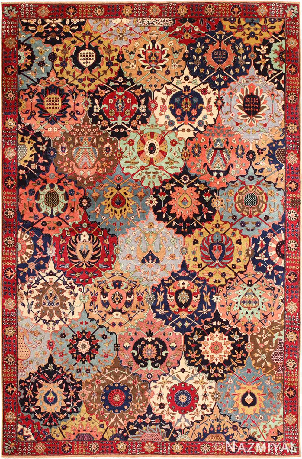 Antique Persian Tabriz Rug 49065