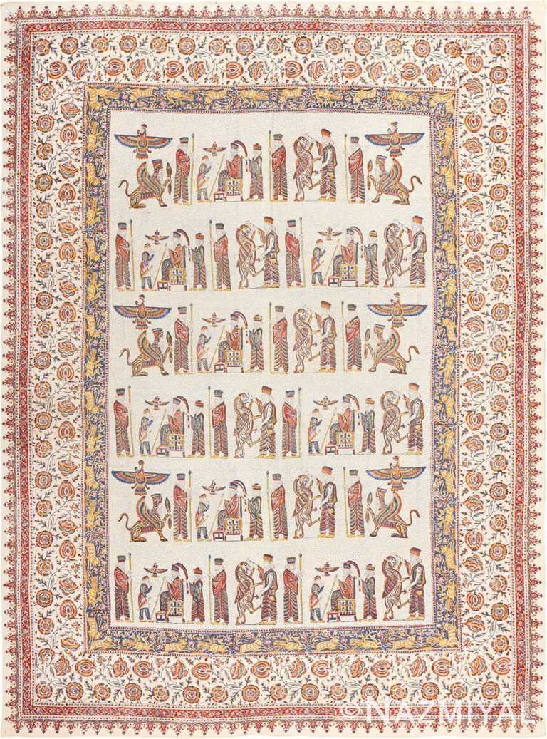 Antique Persian Textile 49022