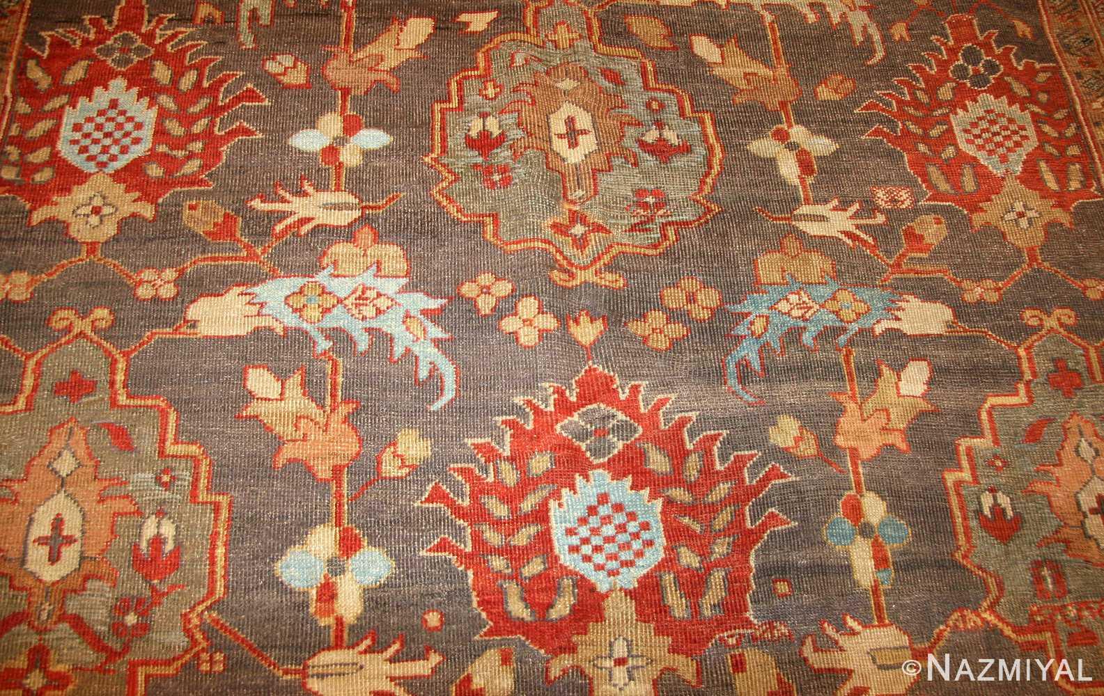 breathtaking gray persian sultanabad rug 49032 field Nazmiyal