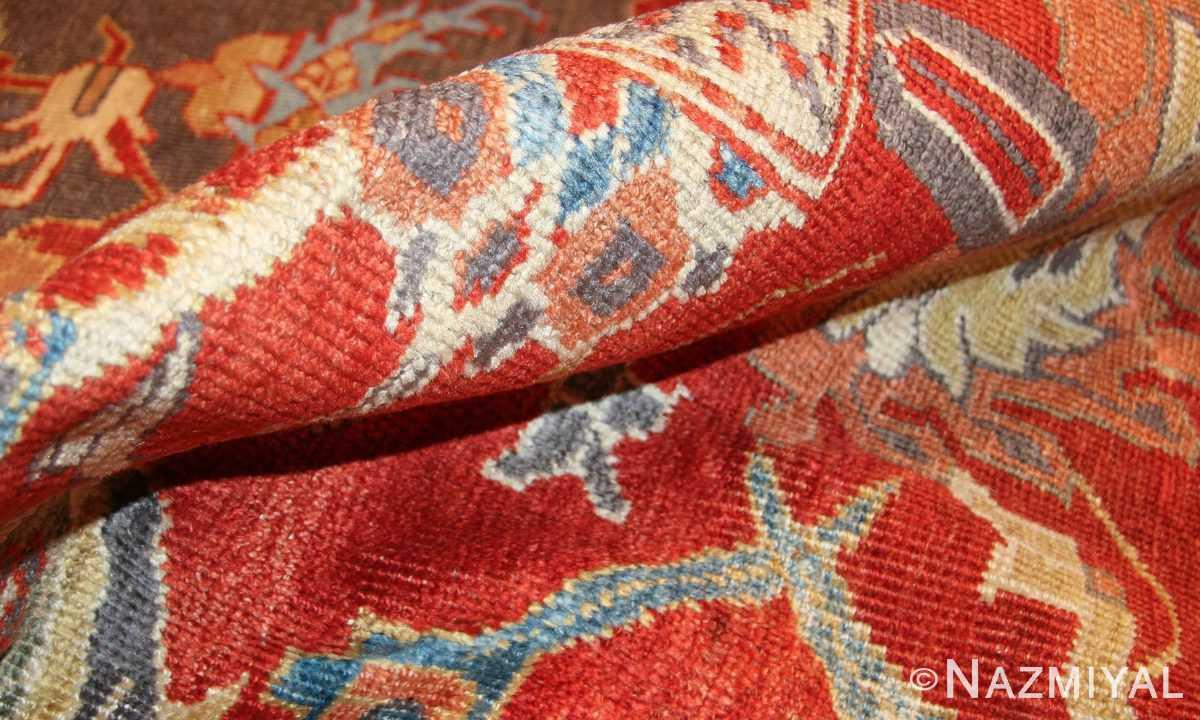 breathtaking gray persian sultanabad rug 49032 pile Nazmiyal