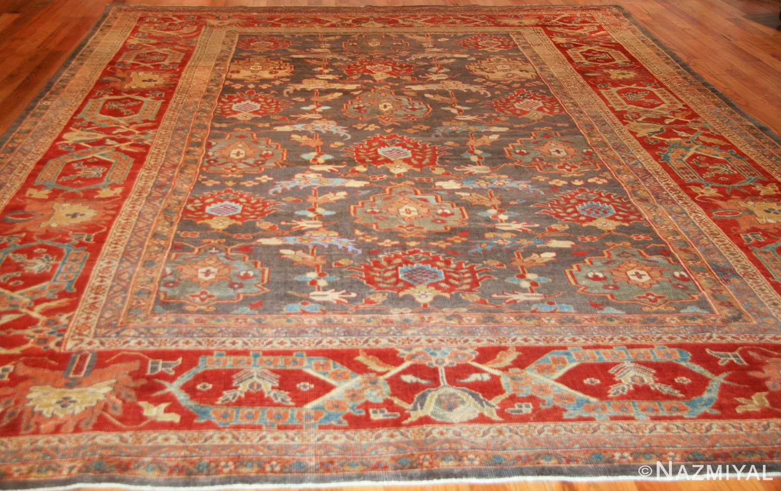 breathtaking gray persian sultanabad rug 49032 whole Nazmiyal