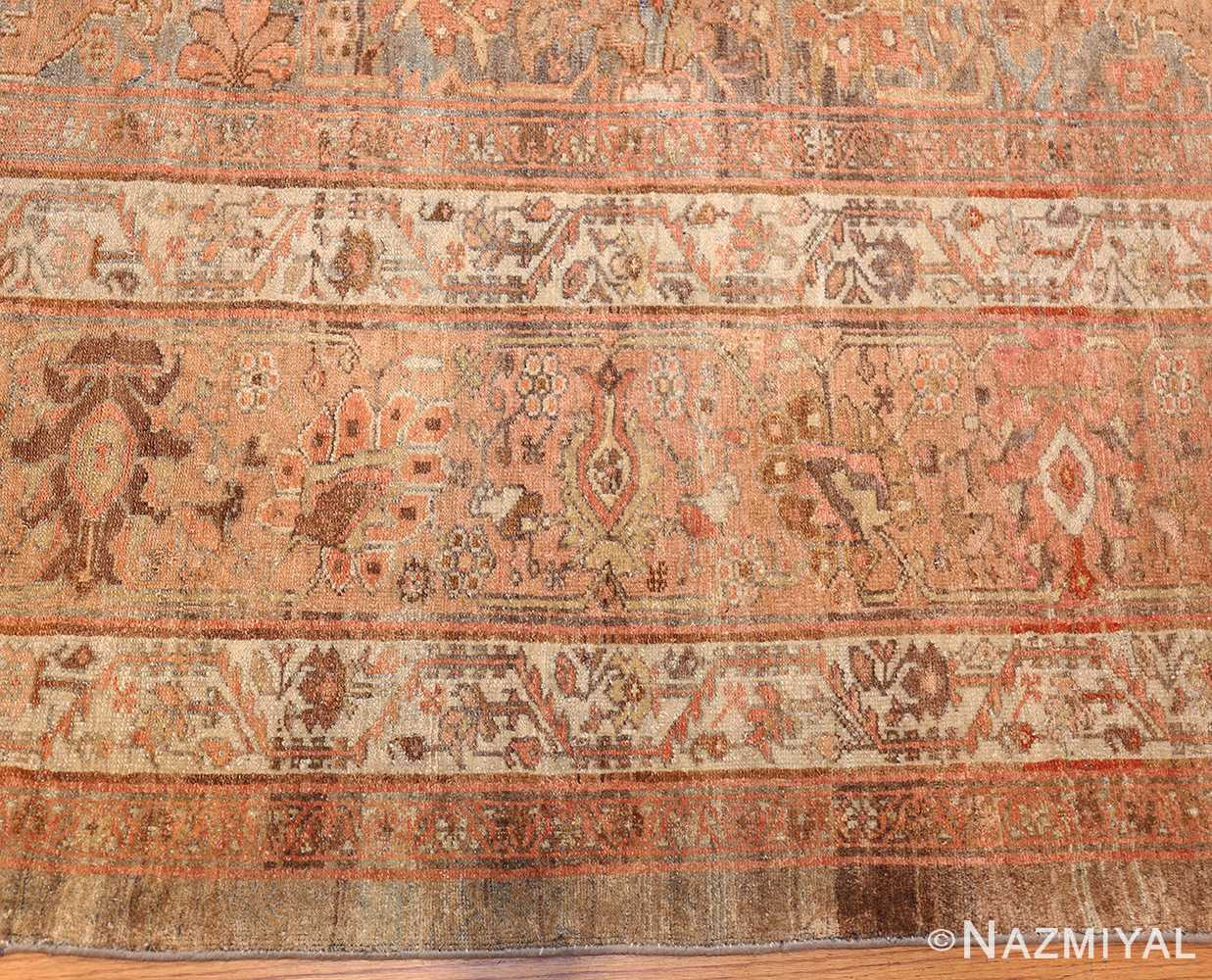 large light gray persian malayer rug 48882 border Nazmiyal
