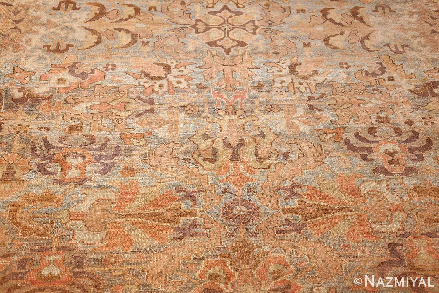 large light gray persian malayer rug 48882 detailed Nazmiyal