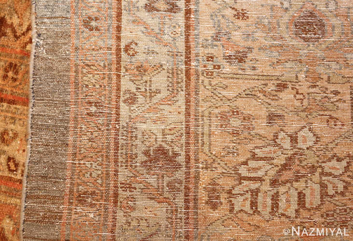 large light gray persian malayer rug 48882 weave Nazmiyal