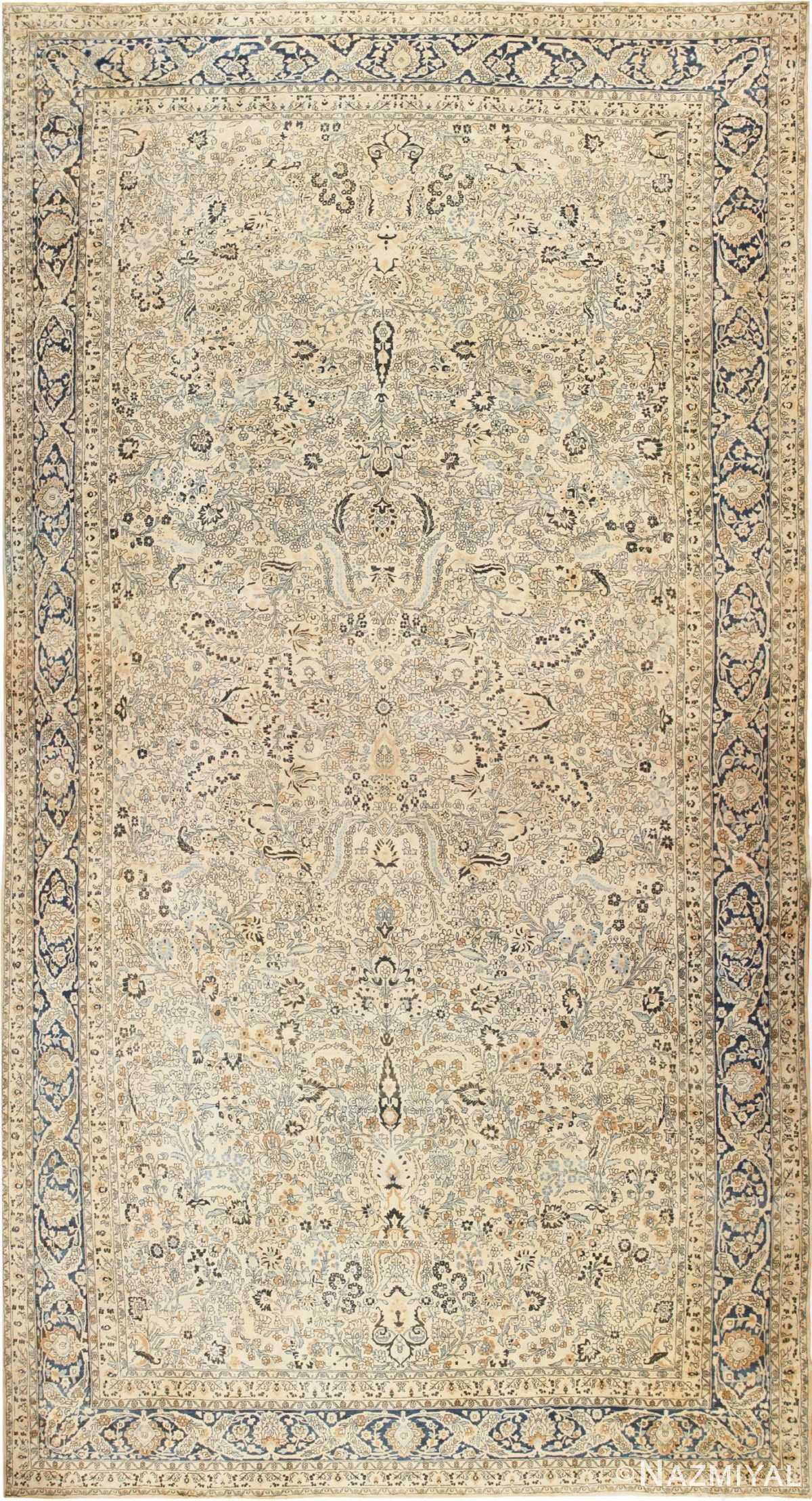 Decorative Antique Oversized Persian Khorassan Rug 48825 Nazmiyal
