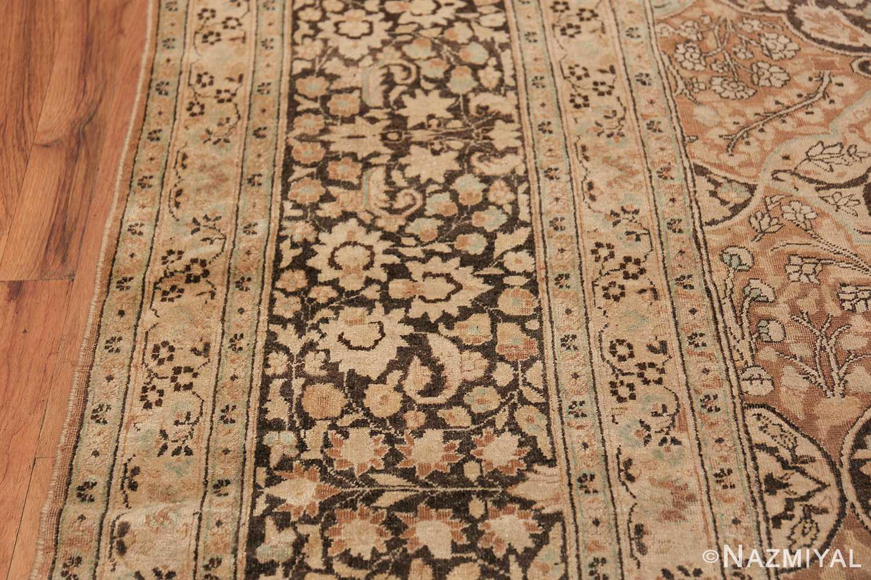 Large Oversized Antique Persian Khorassan Rug 48922 Border Design Nazmiyal