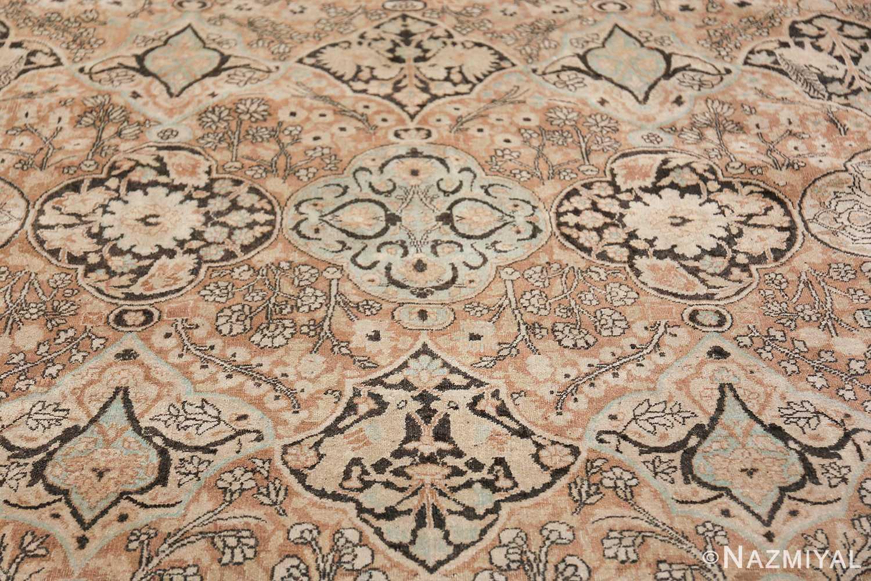 Large Oversized Antique Persian Khorassan Rug 48922 Closer Look Nazmiyal