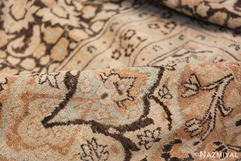 Large Oversized Antique Persian Khorassan Rug 48922 Floral Pile Nazmiyal