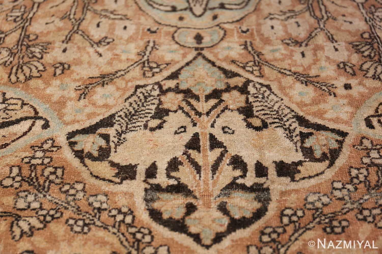 Large Oversized Antique Persian Khorassan Rug 48922 Imaginary Animal Nazmiyal
