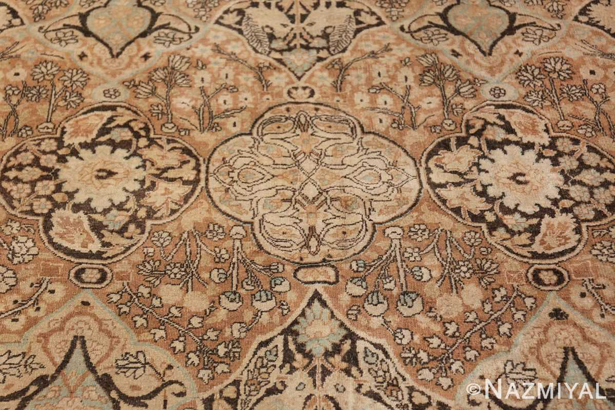 Large Oversized Antique Persian Khorassan Rug 48922 Light Blue Design Nazmiyal