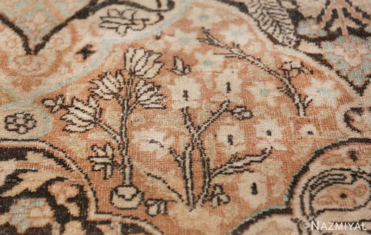 Large Oversized Antique Persian Khorassan Rug 48922 Tiny Flowers Nazmiyal