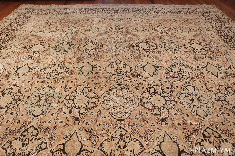 Large Oversized Antique Persian Khorassan Rug 48922 Top Design Nazmiyal
