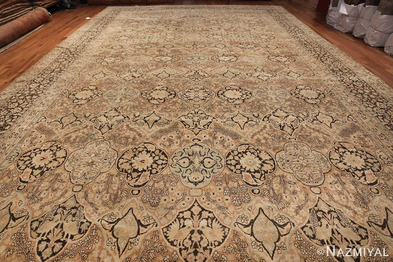 Large Oversized Antique Persian Khorassan Rug 48922 Whole Design Nazmiyal