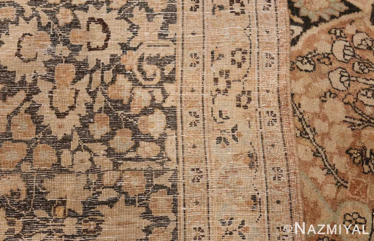Large Oversized Antique Persian Khorassan Rug 48922 Woven Knots Nazmiyal