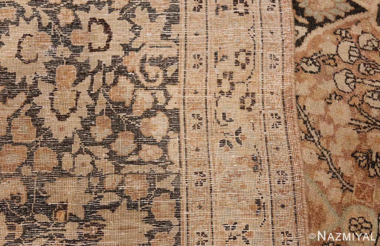 Large Oversized Antique Persian Khorassan Rug 48922 Woven Knots Nazmiyal