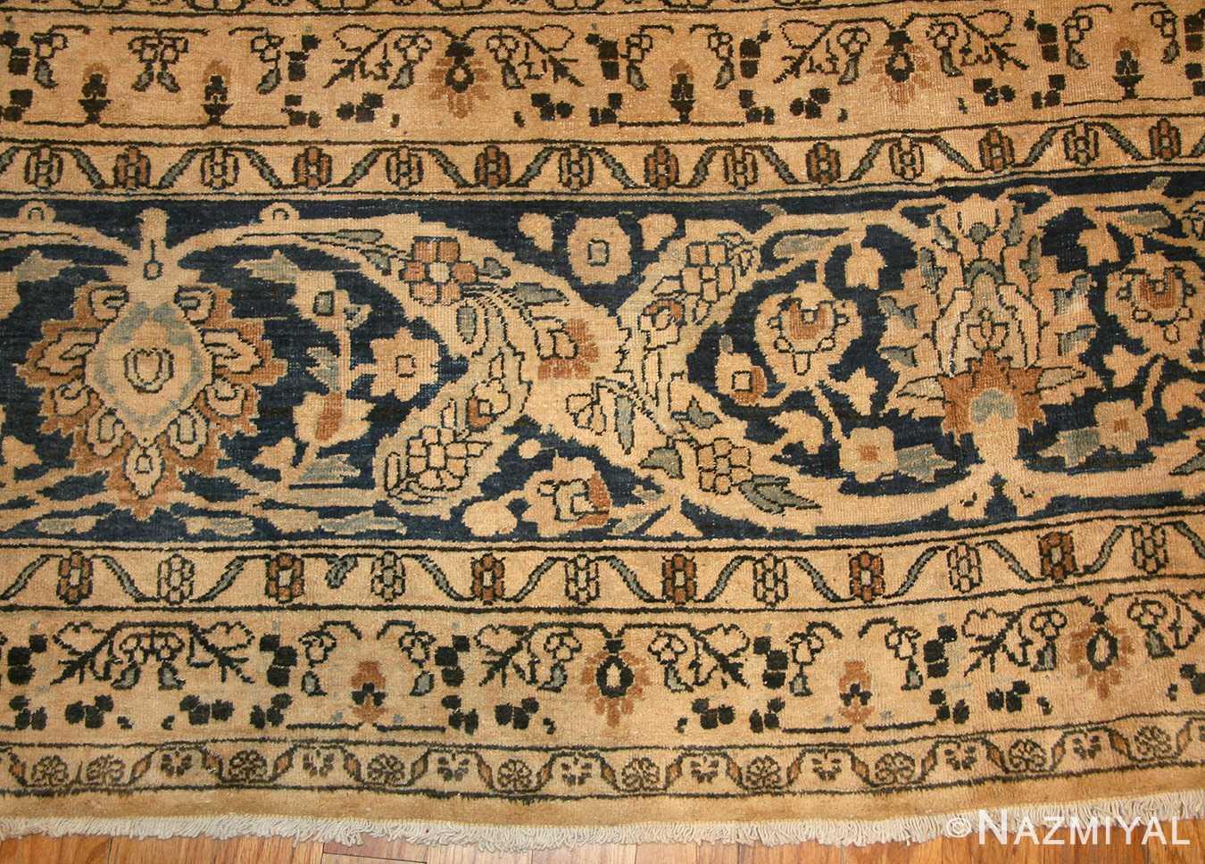 oversized antique persian khorassan rug 48825 border Nazmiyal