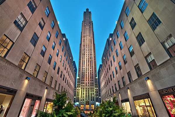 Rockefeller Center Shopping in NYC