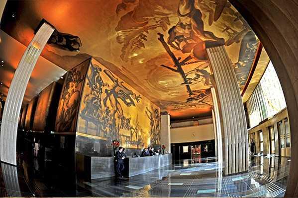 Rockefeller Center Art Deco