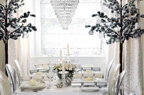 Winter Wonderland Setting