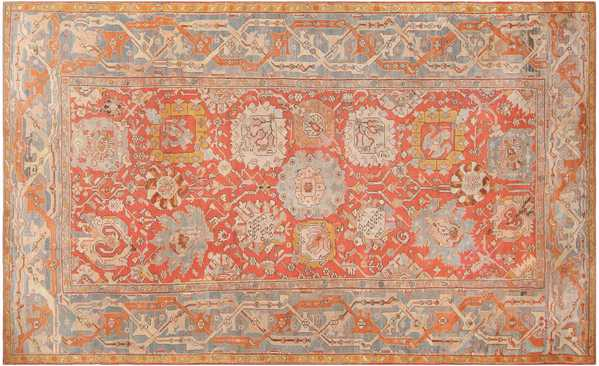 Truly Beautiful Antique Turkish Oushak Carpet
